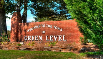 GREEN LEVEL SIGN