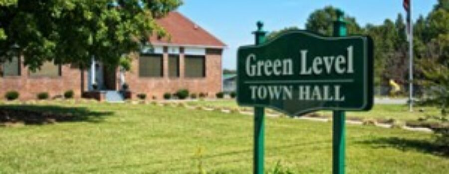 Green Level NC Town Hall